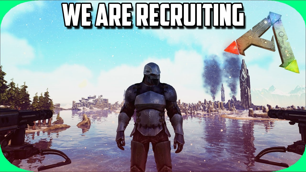 My Tribe Is Recruiting! | New Server | Season 4 ep 8 | Ark ...