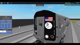 Roblox MTA Rare: R160 K Train