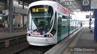 広島電鉄5100形5110号広島交響楽団ラッピングを観察してみた