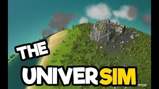 Download Video The Universim Medieval Gameplay! - Continuing to Be a Benevolent God! MP3 3GP MP4