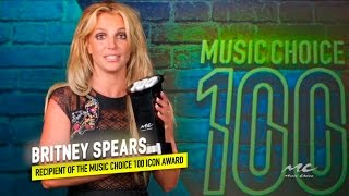 Britney Spears Wins the 2016 Music Choice 100 Icon Award