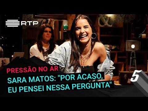 Sara Matos: 'Por acaso, eu pensei nessa pergunta'   5 Para a Meia-Noite   RTP