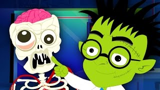 make a monster | original nursery rhymes | Kids Songs | Scary Rhymes | halloween videos
