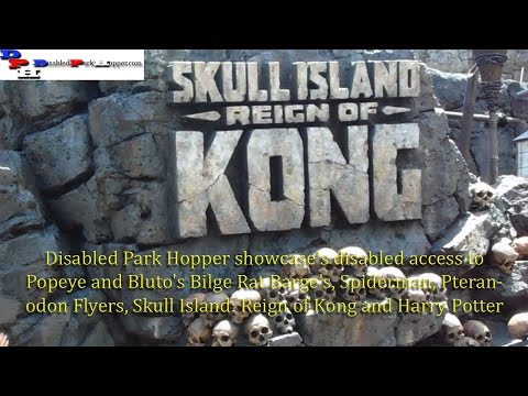 Disabled Access Skull Island: Reign of Kong and more!  7-16-