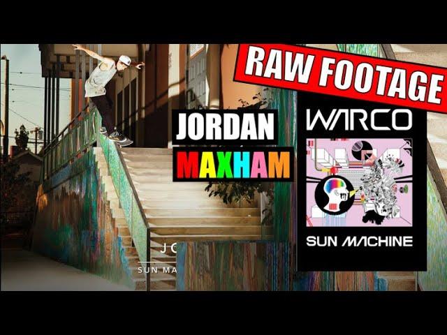 Jordan Maxham: Sun Machine (RAW FOOTAGE)