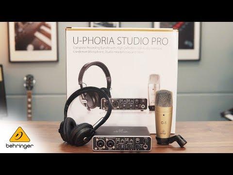 Introducing The U-PHORIA STUDIO PRO Bundle