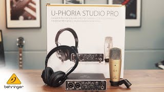 Introducing the U-PHORIA STUDIO PRO bundle
