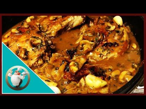 Creamy Garlic And Mushroom Pork Chops |One-Pot Pork Chops With Garlic And Mushroom Sauce