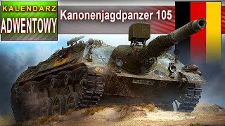 Kanonenjagdpanzer 105 - DZIEŃ 5 - World of Tanks
