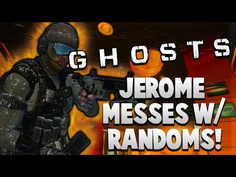 Jerome Messes With Randoms! - COD Ghosts - (BREADED CHICKEN Goes and Messes With Random Players!)