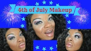 ****4th of  July Makeup Tutorial****