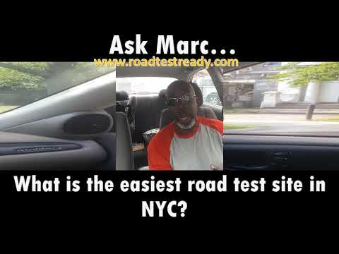 What Is The Easiest Road Test Site In Nyc Youtube