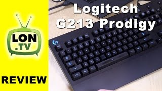Logitech G213 Prodigy Gaming Keyboard Review - $60 Budget Gaming Keyboard