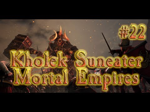 Total War: Warhammer 2 Chaos - Kholek Mortal Empires #22 TO ULTHUAN!