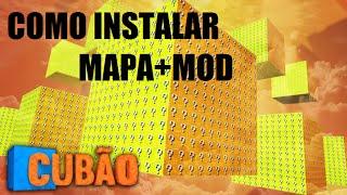 Como Jogar Cubão de Lucky Block do Rezendeevil MAPA+MOD 1.7.10