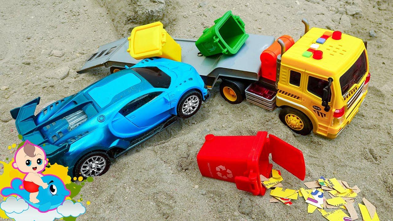 Hang out - Các Xe Ô Tô Bị Cháy Do Tai Nạn Và Xe Cứu Hỏa Đến Dập Lửa - Đồ chơi trẻ em | Bé Cá