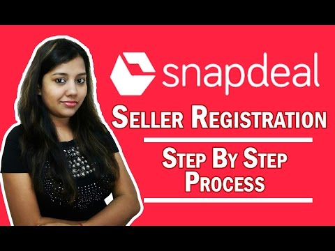 Sell on Snapdeal How to Register Online |Seller Registration on Snapdeal Marketplace in Hindi