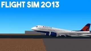 Roblox: Flight Sim 2013! BELLY LANDING
