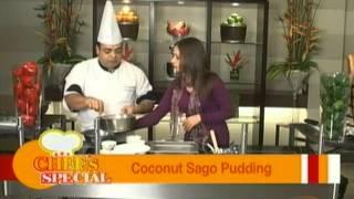 Coconut Sago Pudding - Neeraj Tyagi - Chef's Special