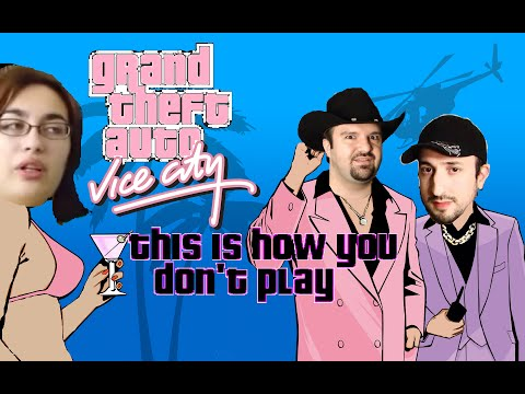 This is How You DON'T Play GTA: Vice City (Devin DIABLO Griffin Edition)