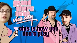 this is how you don t play gta vice city devin diablo griffin edition