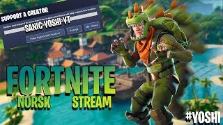 🔴Memberships are here! // *ENGLISH/NORSK FORTNITE STREAM*😍 // Code: Yoshiii