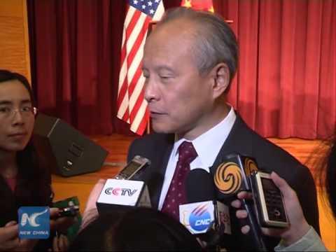 China ambassador tells U.S. to quit meddling in S. China Sea