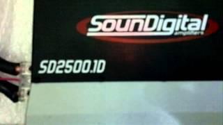 SD2500 teste em 2 ohms