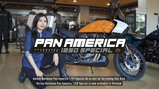 Cách hoạt động của công nghệ Adaptive ride height trên Pan America 1250 Special