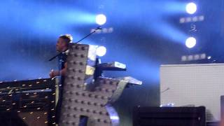 The Killers live@ Hard Rock Calling Hyde Park London 2011