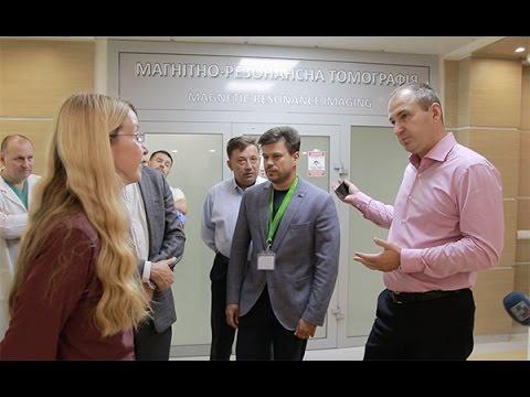 Визит и.о. министра здравоохранения Украины Ульяны Супрун в УЦТ