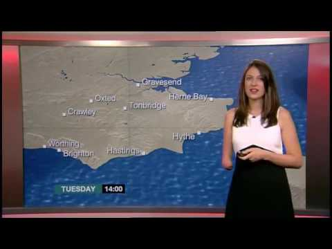Amputee Woman RBE Lucy Martin - Weather Girl  08Aug2016