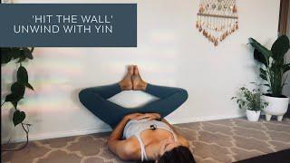 Hit the Wall | unwind | Slow Yoga