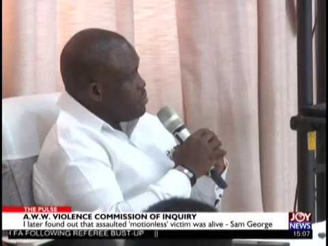 Commission of Inquiry: I did not factor spent casings in my police statement – Sam George (26-2-19)