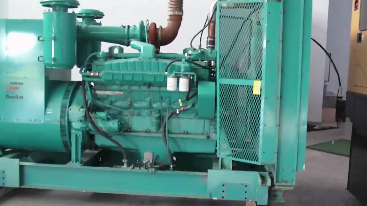 Cummins Vta28g1 500kw Diesel Generator Youtube