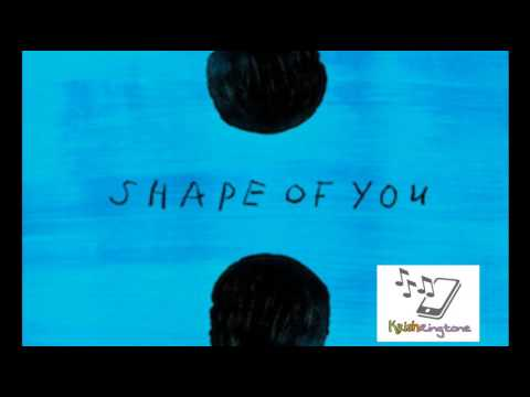 Shape of you ringtone for iPhone and Android download free
