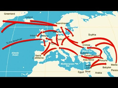 Where Did The Lost Tribes Of Israel Go? - To EUROPE!
