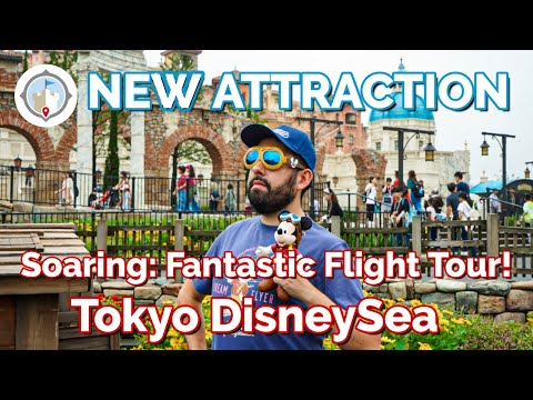soaring:-fantastic-flight-walkthrough,-unique-snacks,-&-exclusive-merchandise-at-tokyo-disneysea!