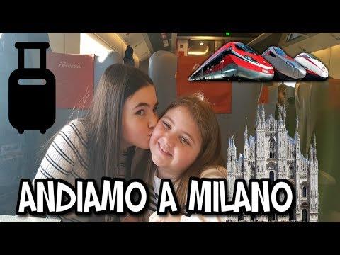 ANDIAMO A MILANO IN TRENO  VLOG 2019 by Marghe Giulia Kawaii