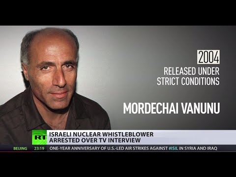 Back Behind Bars: Israeli nuclear whistleblower arrested after TV interview