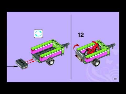 Lego Friends 3184 Adventure Camper Building Instructions Youtube