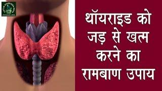 थायराइड को जड़ से खत्म करने का रामबाण उपाय | Thyroid panacea measures to root out |Thyroid Remedies