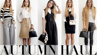 AUTUMN HAUL + TRY ON | Lydia Elise Millen
