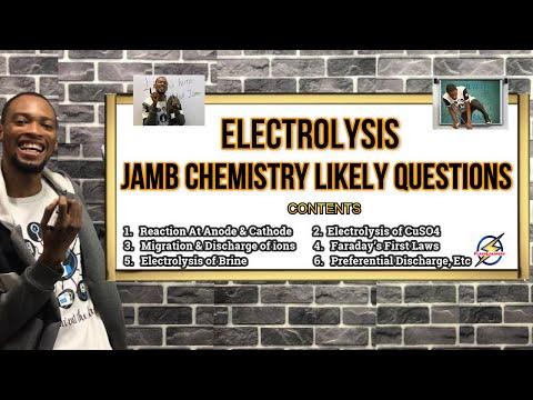 Jamb 2021 Chemistry