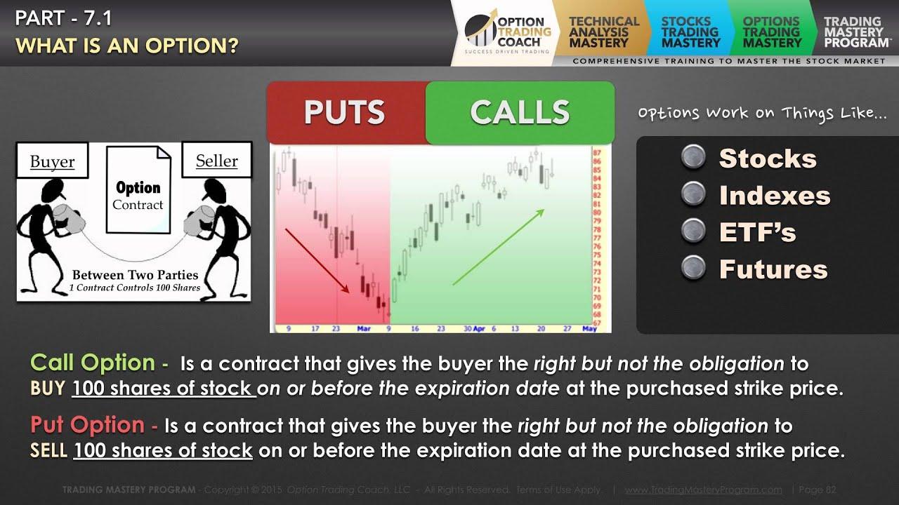 Options trade builder