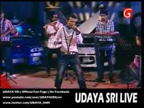 UDAYA SHREE - Oba Wenuwenma Thama LIVE @ D Star Studio