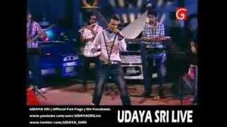UDAYA SRI - Oba Wenuwenma Thama LIVE @ D Star Studio