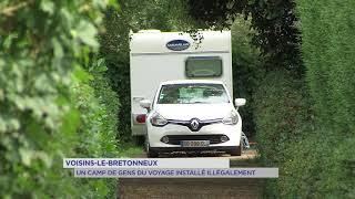 Voisins-le-Bretonneux : un camp de gens du voyage installé illégalement