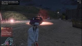 Grand Theft Auto V The strongest cop ever lol