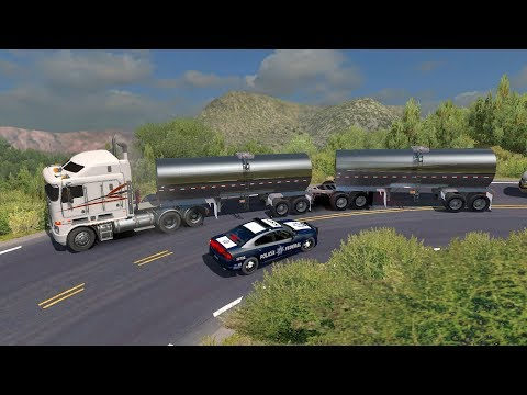 Kenworth K108 | Muchas Curvas | Full de Autotanques Transportando Leche